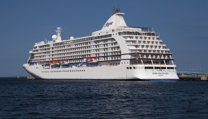 Regent Seven Seas Cruises Voyager, docked at Tallinn, Estonia, Copyright © 2014 NSL Photography. All Rights Reserved.
