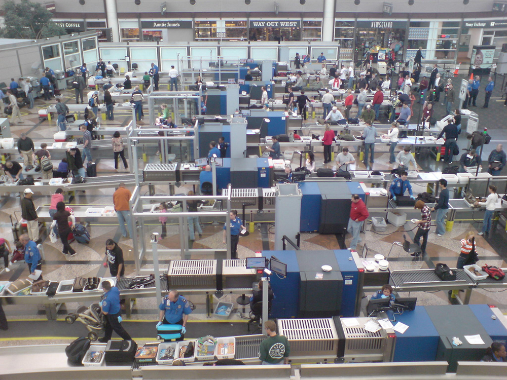 Retooling airport security checkpoints