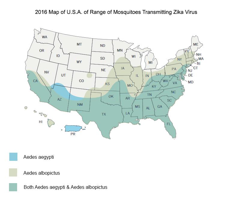 Zika Virus Update For Travelers Travelers United - Zika virus map us