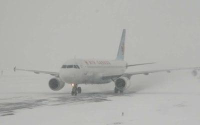 winter weather flight delays