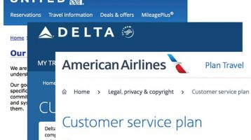 Airline customer service commitments — are they worthless?