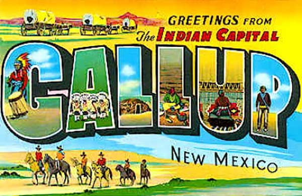 Gallup New Mexico Cowboys Amp Indians Trains Hot Air
