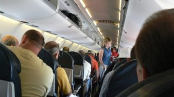 Airline etiquette — bus and train travel, too