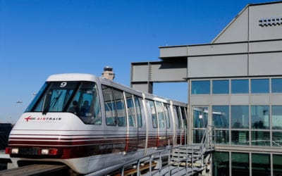 Top 10 airports served by good public transportation