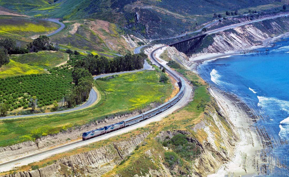 Coast To Coast Train Travel Usa