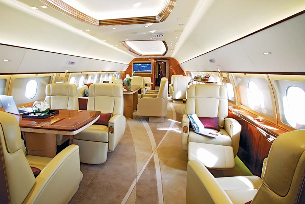 private jets get air traffic control at bargain rates the system