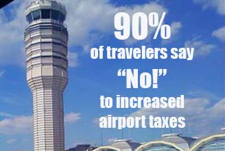 increased airport taxes