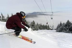 budget skiing