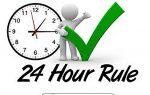 24-hour rule