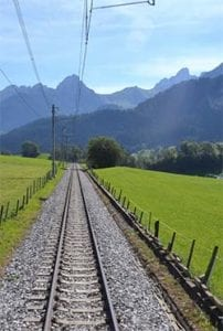 Swiss railroad travel