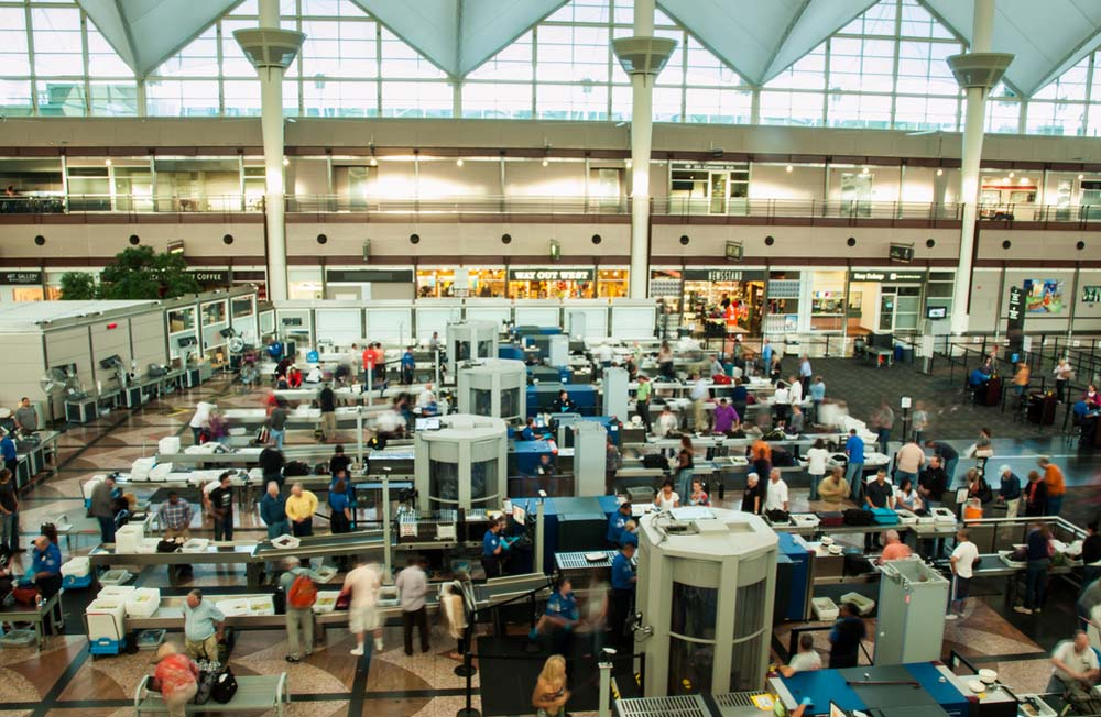 """OMG, TSA security touched my """"junk!"""" I'm not happy"""