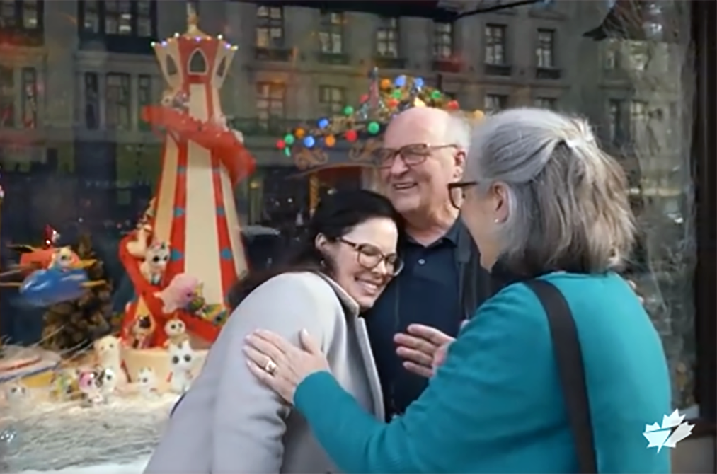 Christmas videos that laugh at reality and create miracles