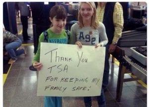 help TSA agents