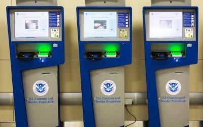 Global Entry Kiosks (Image courtesy US Customs and Border Protection.)