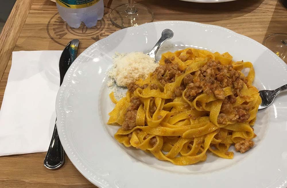 Searching for true spaghetti Bolognese in Bologna