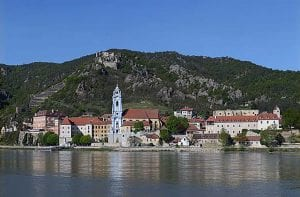 Danube River cities
