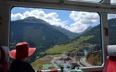Swiss railroad travels