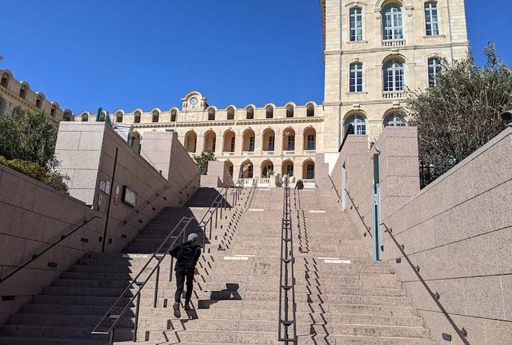 Marseille in the time of COVID-19 deaths