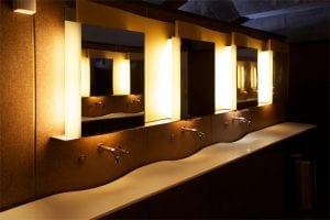 COVID-19 safe restrooms