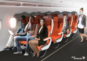 new airline seating