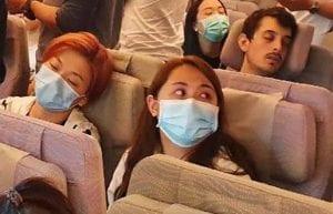 face masks aboard planes