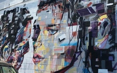 Check out cutting edge street art in the fresh air
