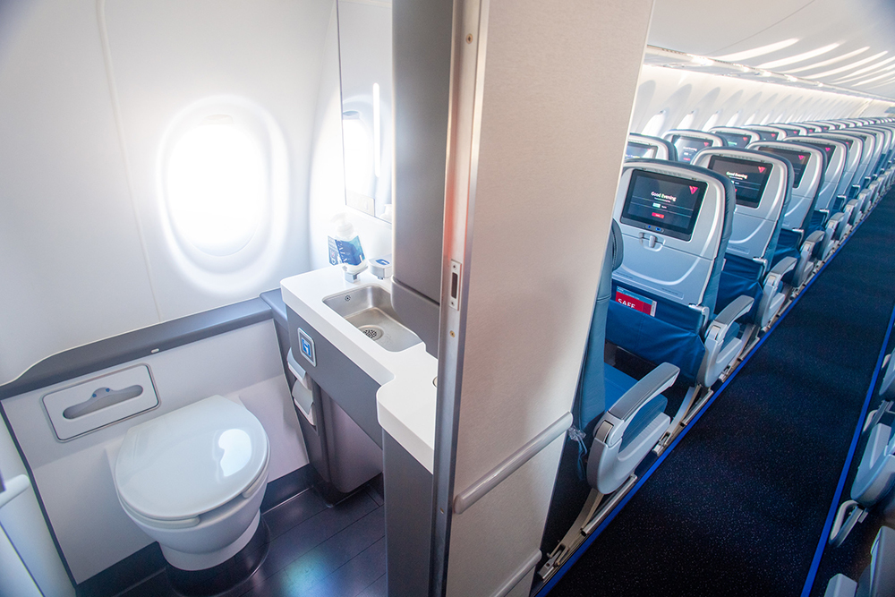 Learn these airplane lavatory virus prevention secrets