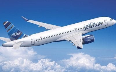 Sunday musings: A220 joins JetBlue, Layovers vs. Non-stop, No CNN airport TV, Mask mandate poll
