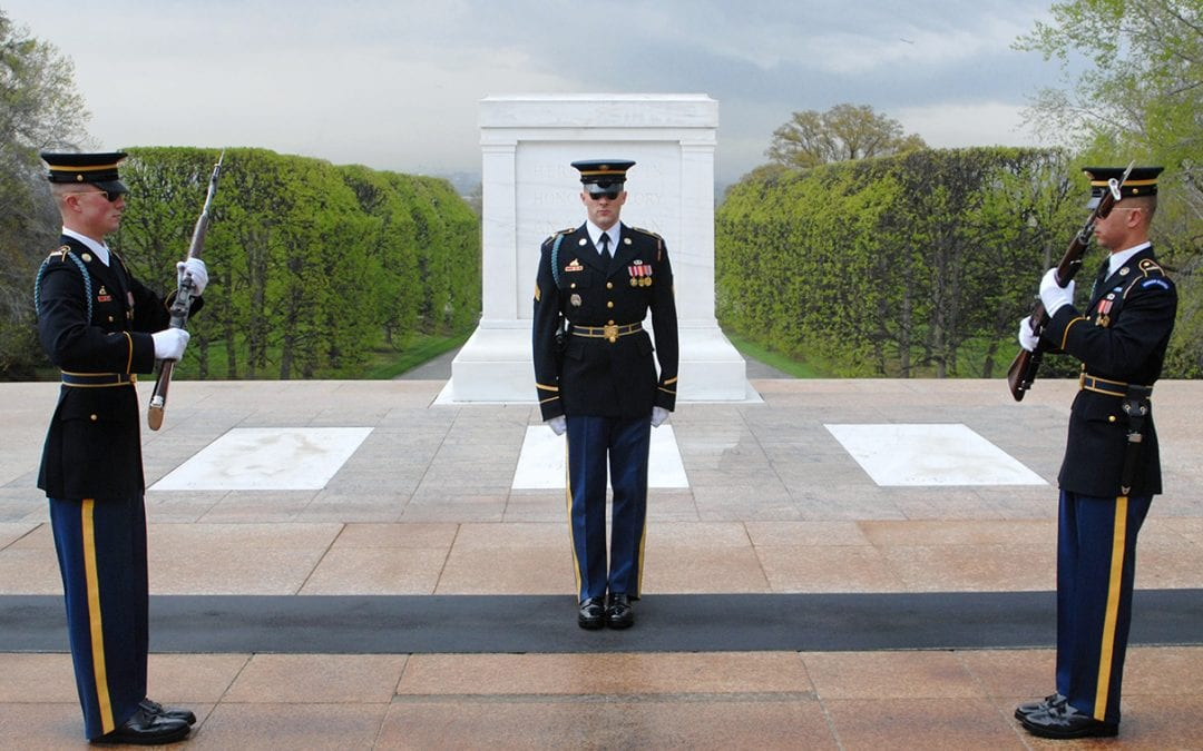 Who's in the Tomb of the Unknown Soldier? Or is it empty?