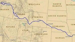 US tourist trails