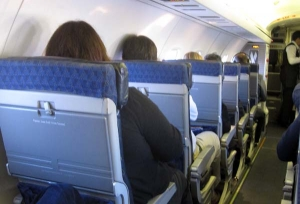 airline seat size