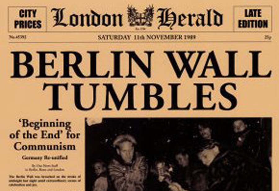 25 Years Since The Fall Of The Berlin Wall Travelers United