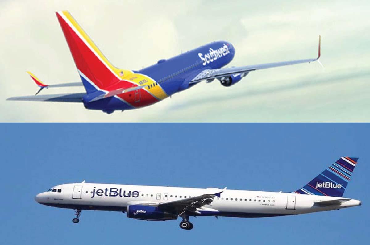 American Airlines vs Delta Air Lines vs Jetblue vs Southwest Airline vs United Airlines