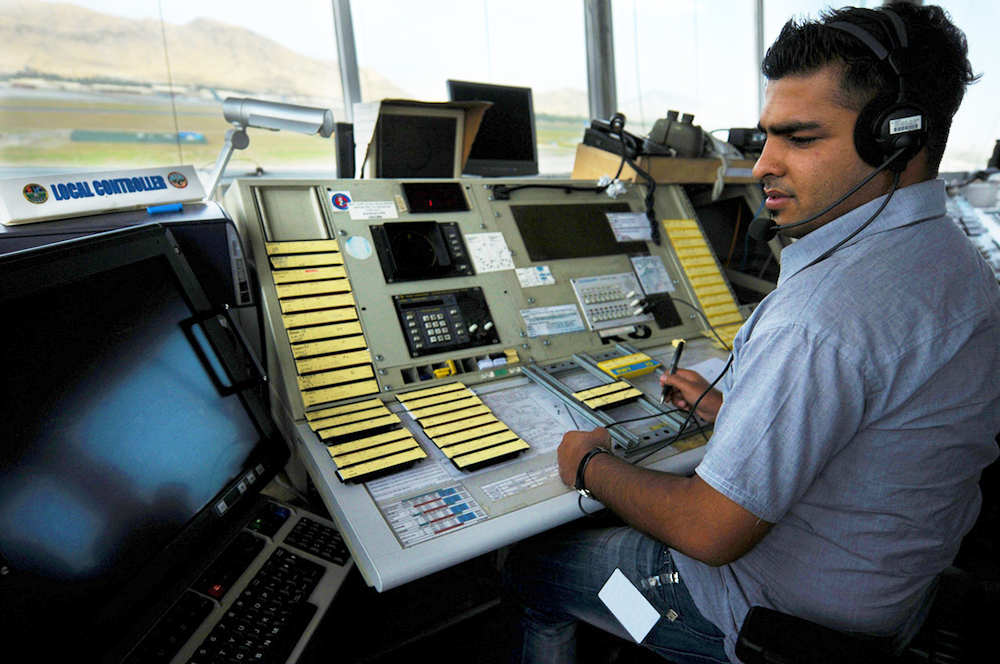 how to become an air traffic controller salary