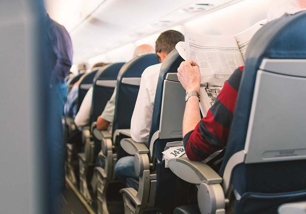 Congress introduces bills to provide humane personal space on planes