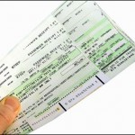paper travel itinerary